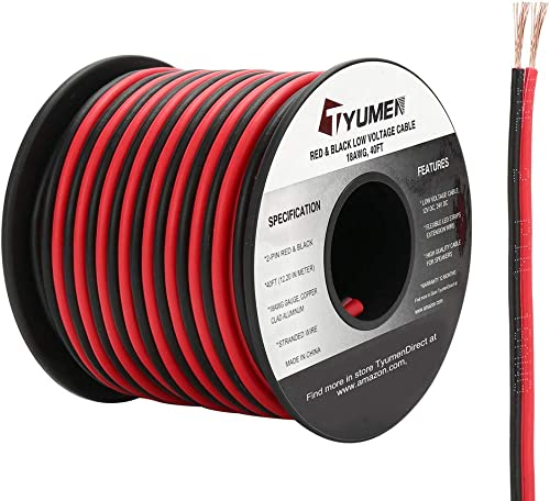 50 AMP Single Core Stranded Copper Cable 12v 24v Thin Wall Wire RED BLACK BROWN