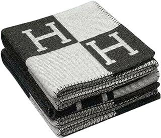 EDTara Cashmere Plaid Blanket 140x170cm Fashionable Comfortable H-Pattern Wool Soft Warm Blanket Bed Sheet for Sofa Car Tr...