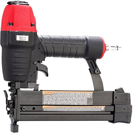 "3PLUS HF509040SP 18 Gauge 2"" Brad Nailer and 1/4-Inch Narrow Crown Stapler 2 in 1"
