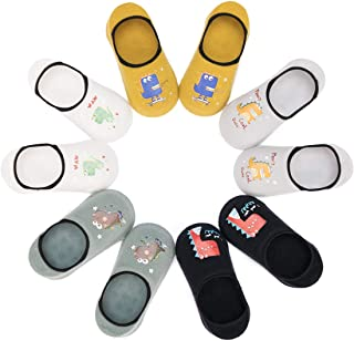 Calcetines Invisibles Antideslizantes para Niños Lote de 5