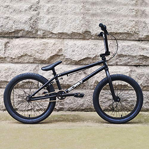 AISHFP 20 Pollici di Livello Professionale Adulti BMX Bike, Livello principiante al Rider avanzati BMX Race Bike, High Strength Steel Carbon Frame, Uomini Donne Generale,C