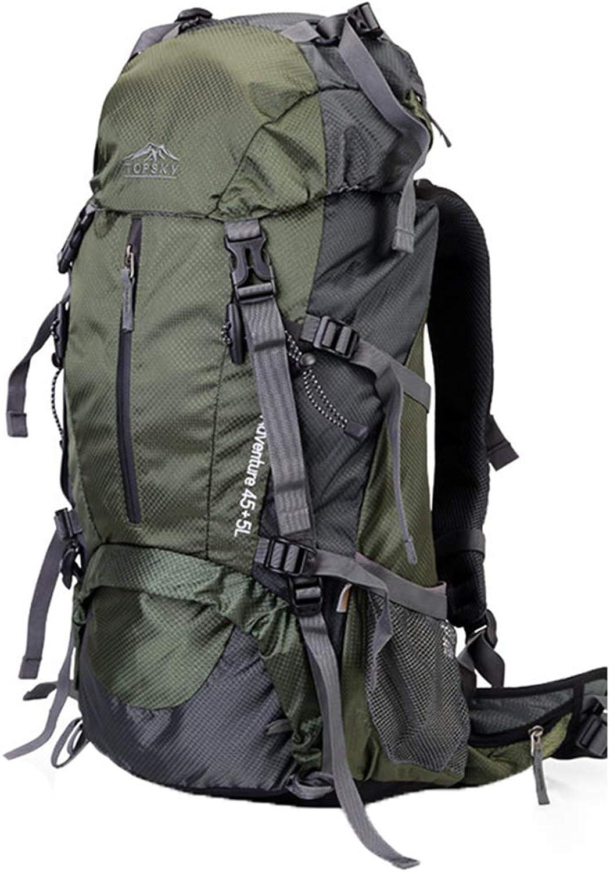 Hsug Männer Frauen 60L Trekkingrucksack Outdoor Sport Bergsteigenbeutel Nylon Wasserdicht Sportrucksack Groß Regenhülle B07LFX882N  Neue Produkte im Jahr 2018
