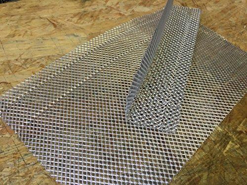 Lüftunsprofil Winkel aus ALU Multischutzgitter Insektenschutz 120/90 x10m