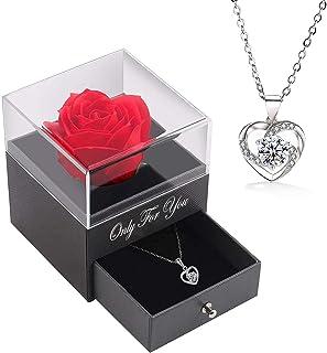 CMOM Valentinstag Geschenk Neu Valentinstag B/är Geschenkbox Geschenk Rose Geschenk Kleines Geschenk 12 Seifenblume f/ür Jahrestag//Geburtstag//Hochzeit//Valentinstag