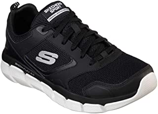 Skechers Skech-Flex 3.0 – Whiteshore, Caminar, Negro/Blanco, US M