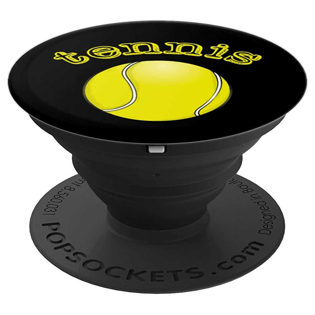 Tennis Player Sport Lover Ball Game Gift Men Women - PopSockets Grip and Stand for Phones and Tablets