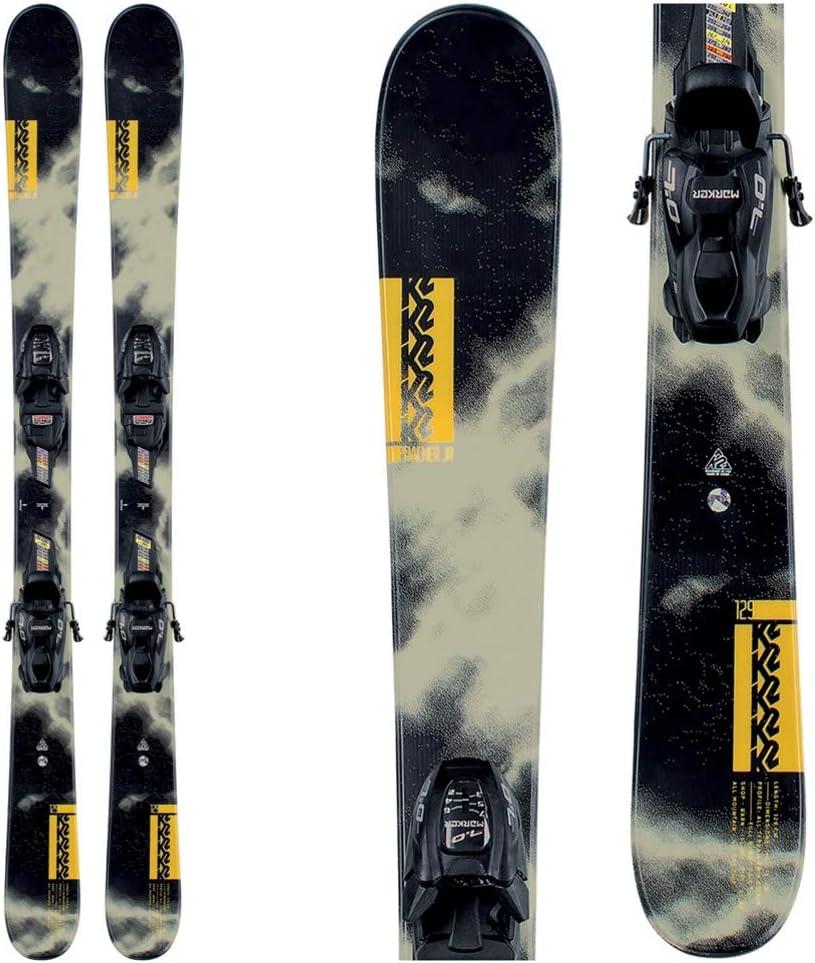 K2 Poacher JR Lowest price challenge Skis w 7.0 Bindings FDT Kid's - Superior 2021