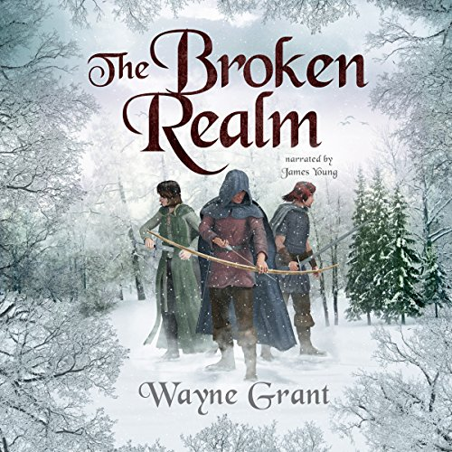 The Broken Realm audiobook cover art