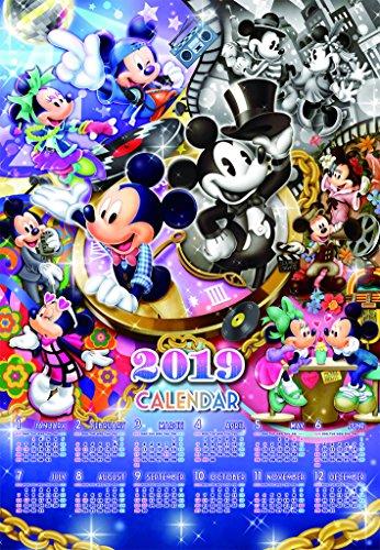 1000ピース ジグソーパズル ディズニー ミッキーのファッション ヒストリー(2019年ミッキーマウスカレンダー) (51x73.5cm)