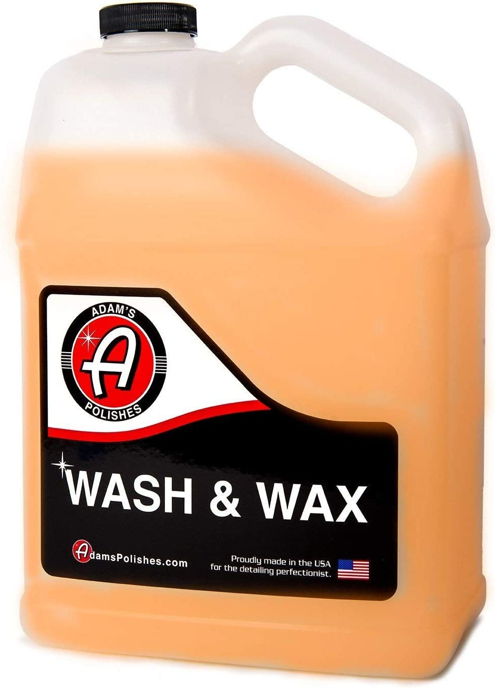 Adam's Wash and Wax Gallon - Soap with Special Campaign Pure C Infused Houston Mall Car