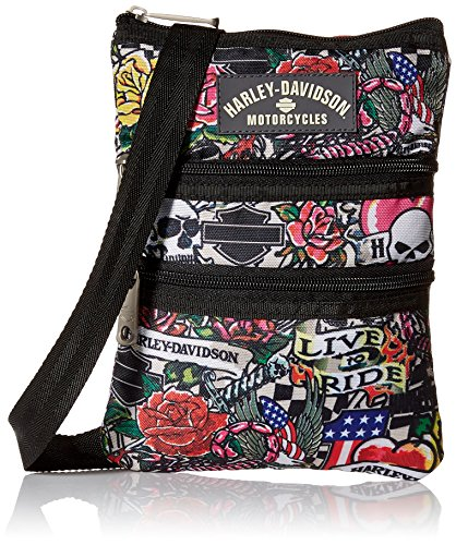 Harley Davidson X-Body Sling, Tattoo, One Size