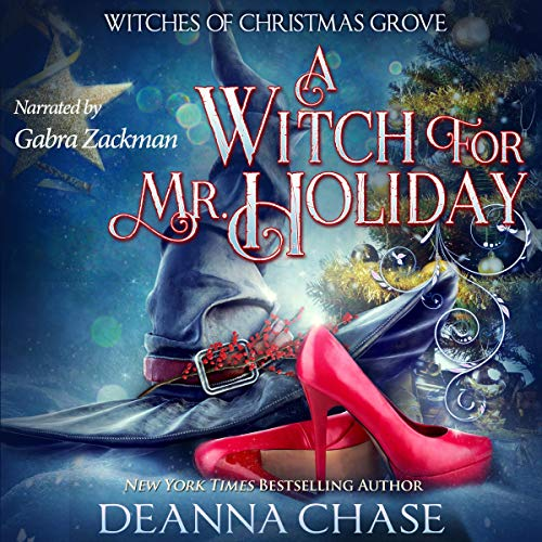 A Witch for Mr. Holiday audiobook cover art