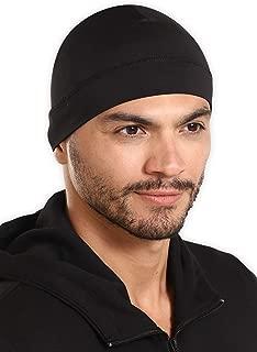Bismaadh Headwear Sweat Wicking Helmet Liner/Cooling Skull Cap for Men - Helmet & Hard Hat Liner Accessory - UPF 45 Sun Protection