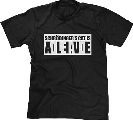 schrodingers cat t shirt Promotions