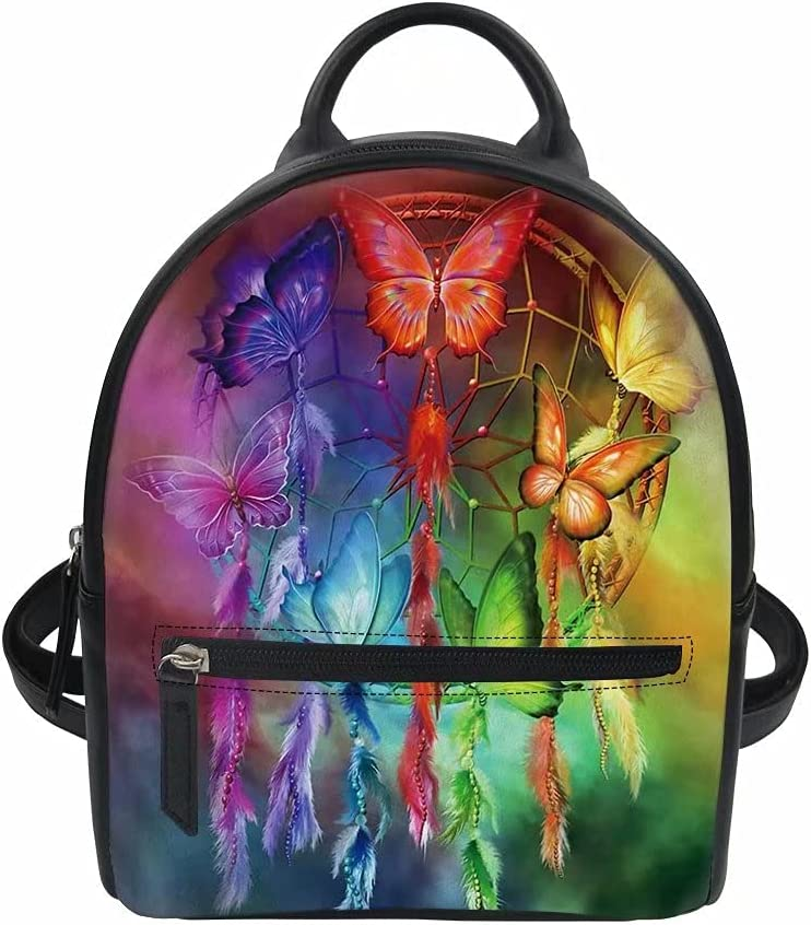 Youngerbaby Max 71% OFF Butteflied Dreamcatcher Outlet ☆ Free Shipping Print Satchel Bag Shoulder F