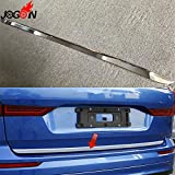 HUNGOKU- For Volvo Xc60 2018 2019 Car Styling Rear Back Trunk Door Body Trim Abs Chrome Accessories Bright Silver