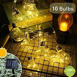 Fernbedienung7W FADDARE LED-Gl/ühbirne Klettern B-Aufladung Camping mit Haken im Freien Lampe Garten Solar Panel Laterne Einstellbare Helligkeit Tragbare Wanderfernbedienung