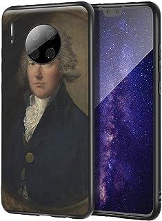 Thomas Gainsborough Huawei Mate 30 用ケース/ファインアート携帯電話ケース/高解像度ジクレーレベルUV複製プリント、携帯電話カバー(ウィリアム・ピット)
