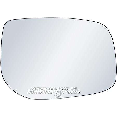 plate Left Passenger side Flat Wing door mirror glass for Toyota Auris 2006-12