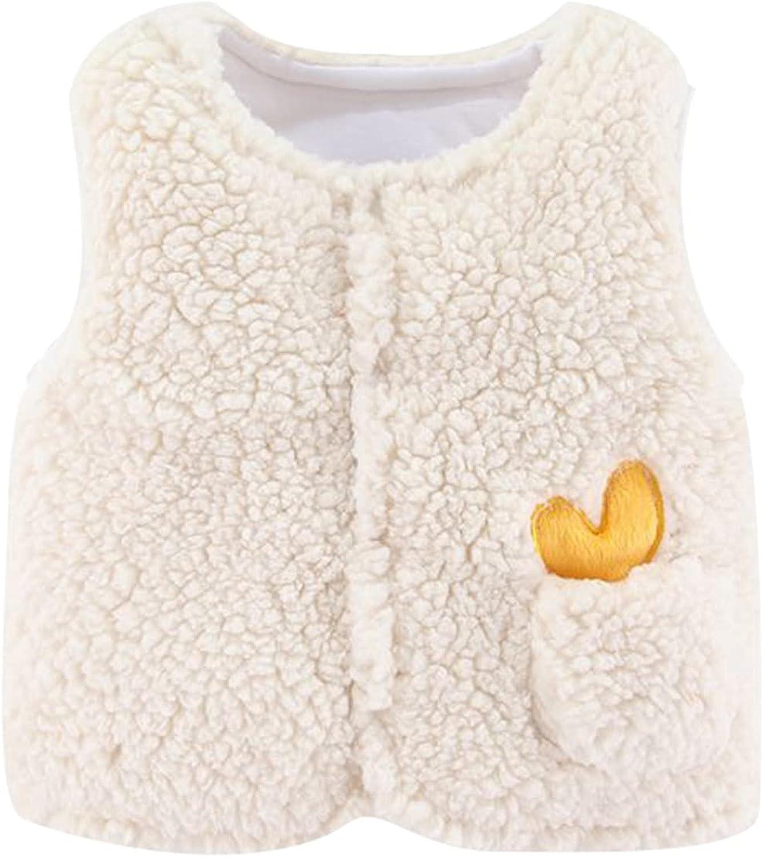 Omaha Mall Baby Coat Regular dealer Kids Vest Jacket Girls Boys S Toddler -