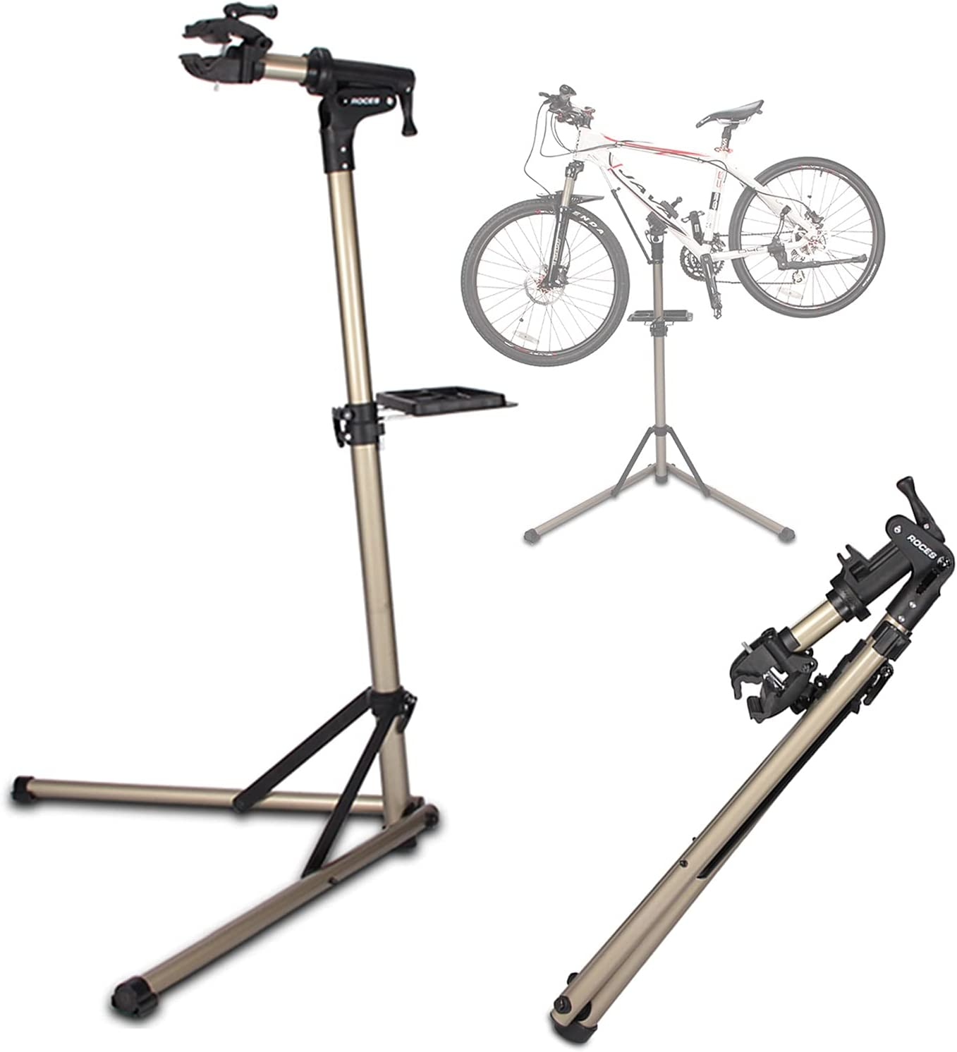 Credence LSM Foldable Bike Repair 100% quality warranty Stand Aluminum Lightweight Workstation