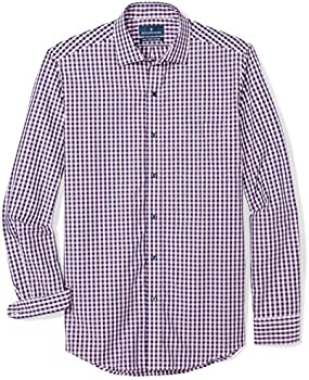 Buttoned Down Men's Classic Fit Spread-Collar Supima Casual Shirt