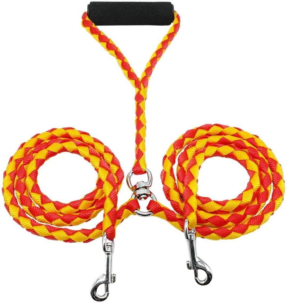 ZMJYH Dog Credence Leash Tampa Mall Double Lead Rope Walking Convention Durable No