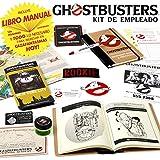 Cazafantasmas - Kit de Empleado (Manual de Equipo, Parches Ghostbusters, Bote Ecto contenedor, Mapa, Placa metálica, boligrafo, etc)