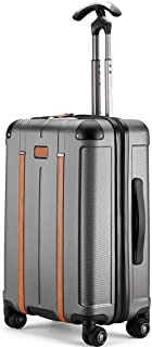 IhDFR Hand Luggage,Trolley case- Business Travel Trolley Case 20 Inch, Student Portable PC Luggage Lock Box 24 Inch (Color : Rose Gold, Size : 20in) (Color : Silver, Size : 24in)