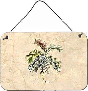 Caroline's Treasures 8483DS812 Palm Tree Aluminum Metal Wall or Door Hanging Prints, 8 x 12