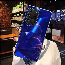 URFEDA Compatibel met Samsung Galaxy S20 Ultra Phone Case Diamond Glitter Case met Spiegel Effect Bling TPU Siliconen + Du...