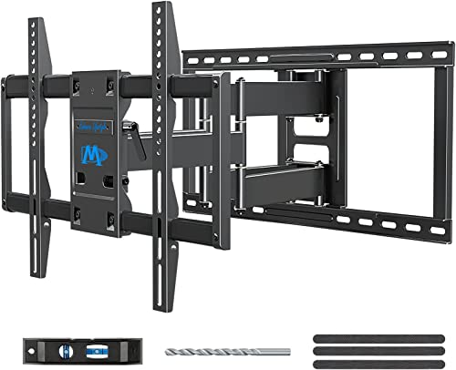 Mounting Dream Premium Full Motion TV Wall Mount Bracket Fits 16, 18, 24 inch Wood Stud Spacing, TV Mount with Articu...