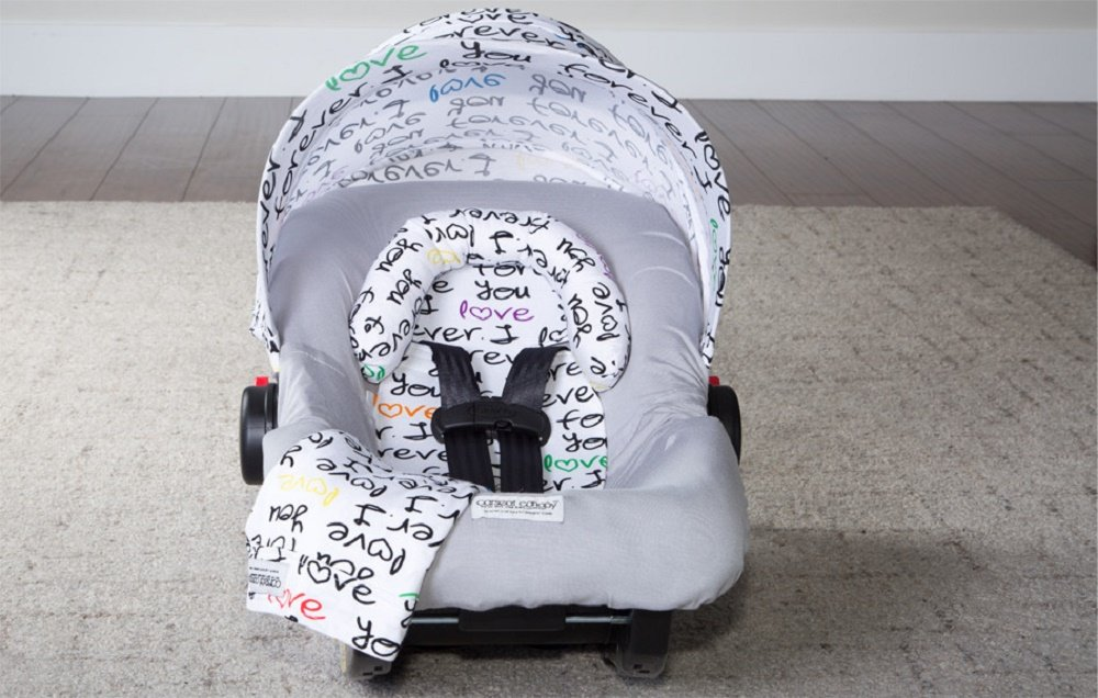 Carseat Canopy Whole Caboodle Jersey Stretch - Harley