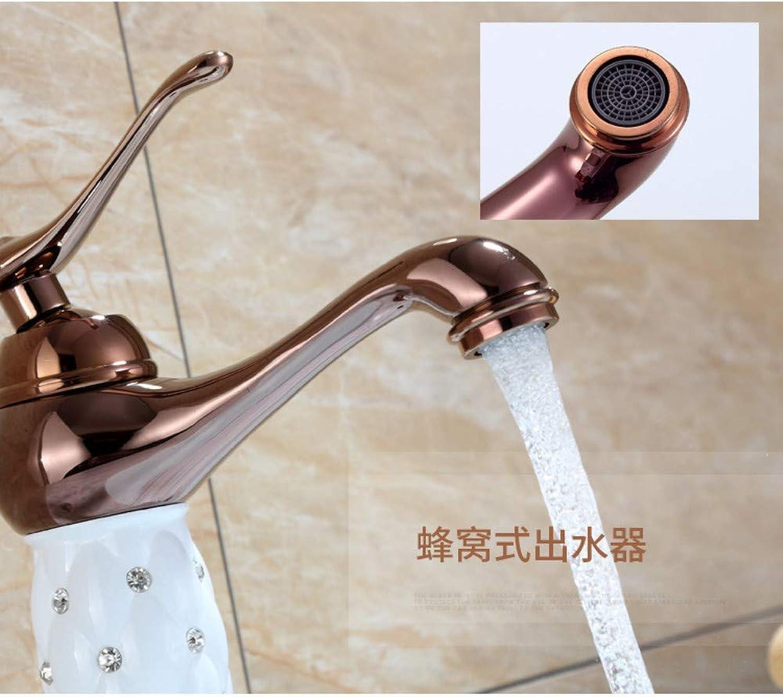 Plumbing Bathroom Faucet Wholesale Copper Antique washbasin Faucet hot and Cold Mixed Basin Faucet, Antique