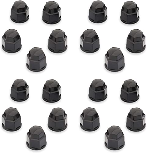 2021 OxGord Lug nut 2021 Cover (17mm, wholesale Black) online sale