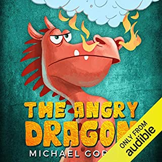 The Angry Dragon audiobook cover art
