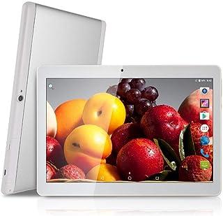Tablet Android 9.0 de 10 Procesador de Cuatro núcleos 4GB de RAM y 64 GB de Memoria Tablet PC WiFi Cámara GPS y Doble Ranuras de Tarjeta SIM Internet 3G