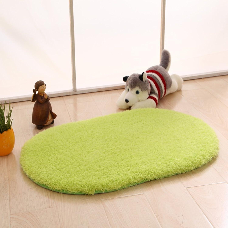 DXG&FX Doormats indoor mats blanket for bedroom kitchen bathroom water absorbent non-slip foot mat-B 120x200cm(47x79inch)