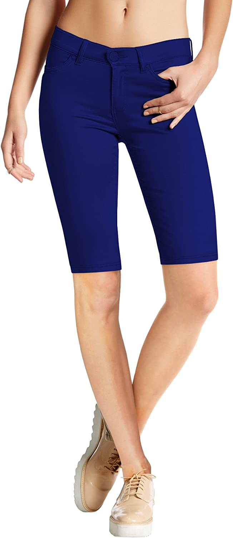 Capri Hybrid Womens Hyper Ultra Stretch Comfy Skinny Pants Bermuda