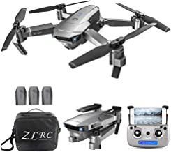 $129 » GoolRC SG907 GPS Drone, 5G WiFi FPV Foldable Drone with 1080P HD Front Camera and 720P Optical Flow Positioning Camera, Follow Me, Gesture Photos/Video RC Quadcopter with 3 Batteries and Handbag