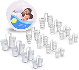 Comezy Anti Snoring Devices - 12 Stop Snoring Nose Vents For Travel & Home Sleep Aid - Snore Solution Nasal Dilators,Ease ...