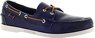 Sebago Mens Docksides Dark Purple Boat Shoe