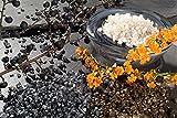 Dekosteine burgund 1 Kg Größe ca. 9mm - 13mm - Deko Steine für Haus und Garten günstig zu kaufen - Streudeko / Tischdekoration (creme) - 3