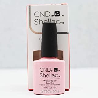 Generic CND Shellac UV LED Gel Nail Polish Base Top Coat 7.3ml 0.25oz Pick Any * Part C 90871 Winter Glow