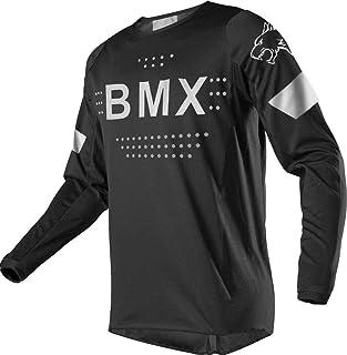 Mens Mountain Bike Jersey Long Sleeve Downhill Bike Shirt BMX Bicycle Cycling Jerseys,Quick Dry and Moisture-Wicking
