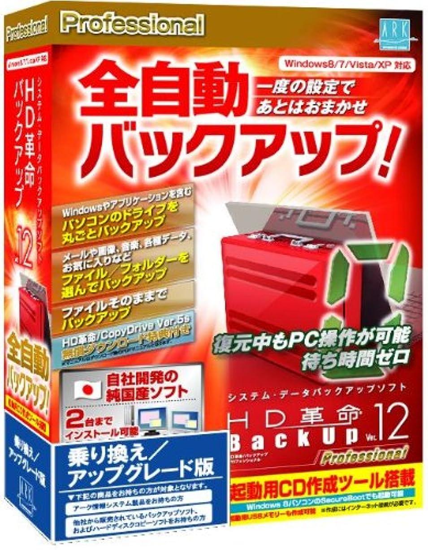 芝生前進確執HD革命/BackUp Ver.12s Professional 乗り換え/アップグレード版