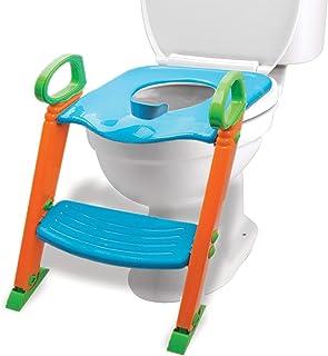 Potty Training Seat with Ladder & Upgraded Splashguard – Toilet Step Stool for..