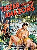 Wee Blue Coo Prints Poster mit Zeitschrift von 1945 TARZAN