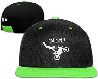 Got Dirt Bike Motorcross Racing Adjustable Unisex Hip Hop Cap Stylish Trucker Hats for Kid's One Size