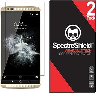 Spectre Shield (2 Pack) Screen Protector for ZTE Axon 7 (2016) Accessory ZTE Axon 7 Case Friendly Full Coverage Clear Film
